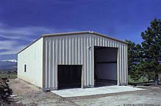 Red iron kits michigan mi steel building packages for Garage building packages
