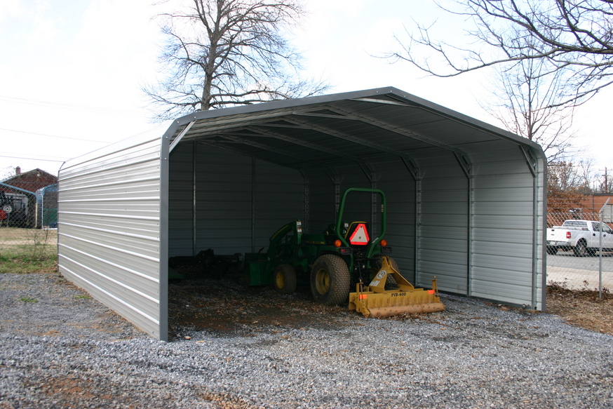 Carports emporia va metal carports steel carports for Sheds brooksville fl