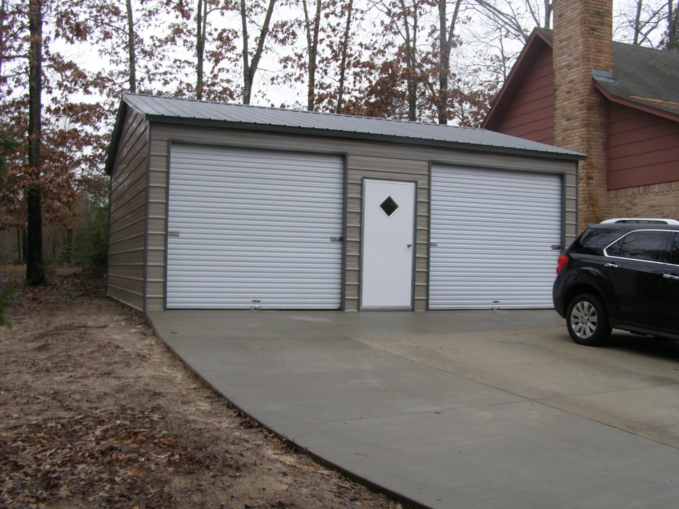 Double Garages