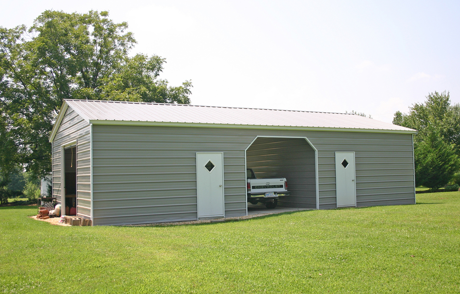 Carports metal garages barns steel rv carports Rv buildings garages