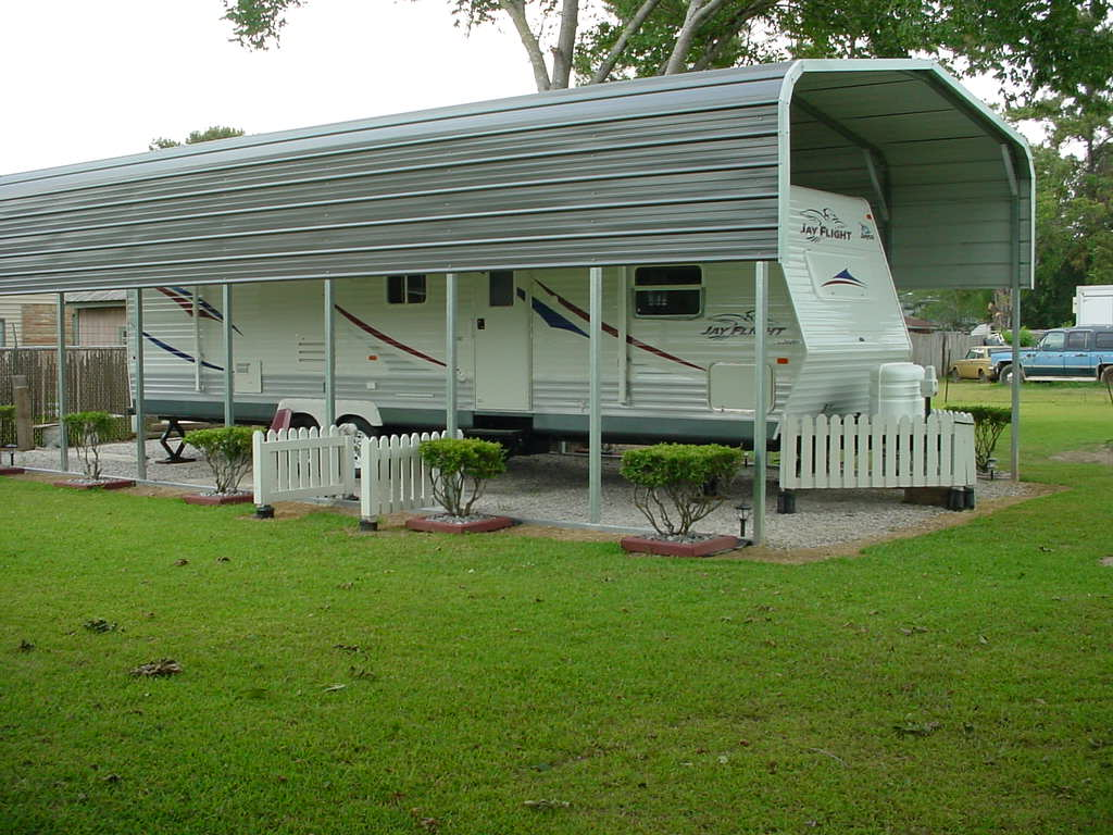 Metal carports north carolina steel carports nc for Rv buildings garages