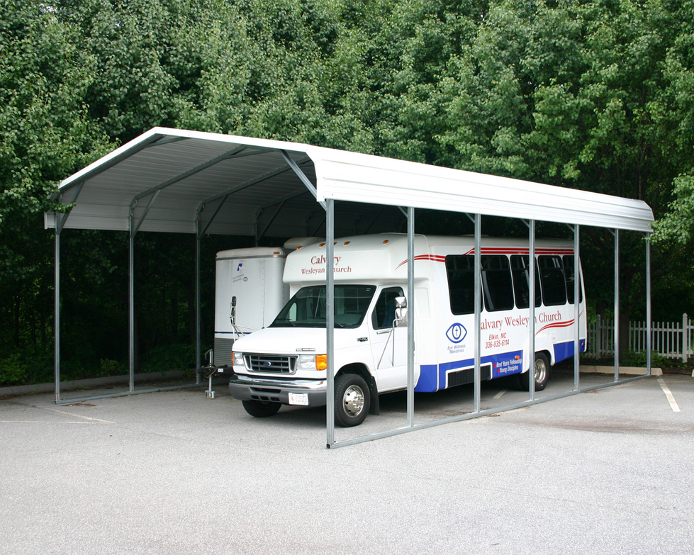 Metal Garages And Shelters : Portable rv shelters
