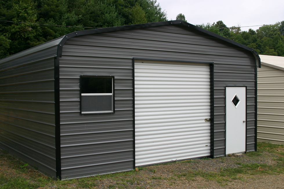 Single car garage single car garages for 1 5 car garage size