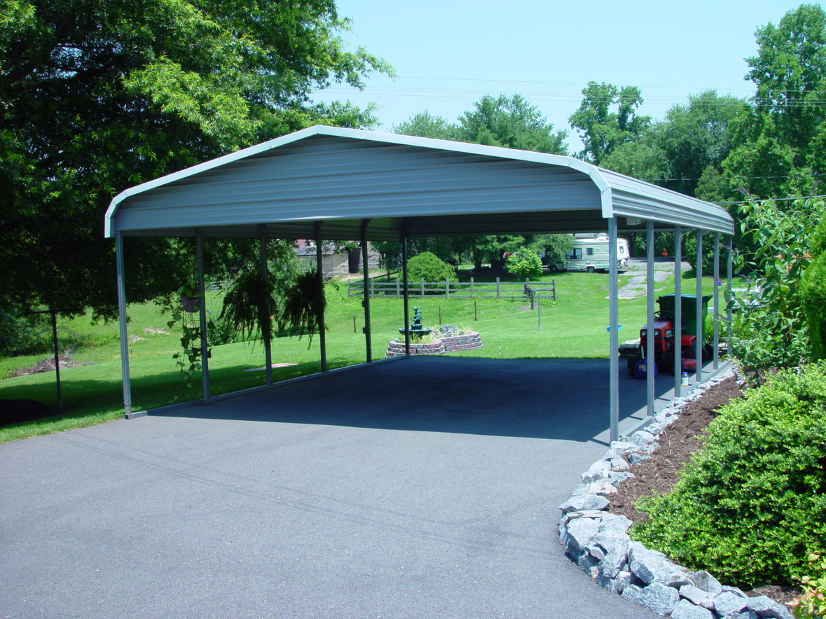Double Carports Two Car Carports 2 Car Carports